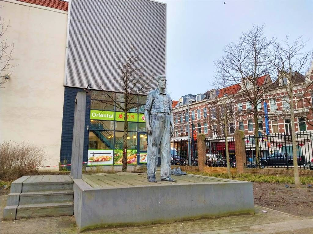 de reus van rotterdam rigardus rijnhout the giant street art