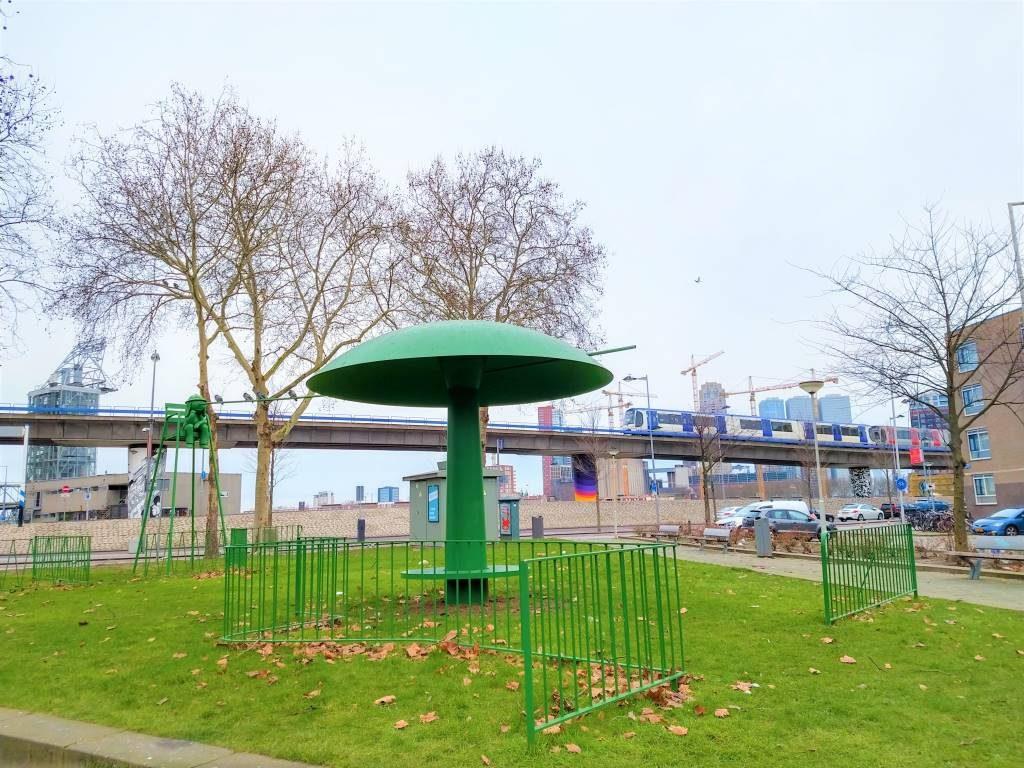 the idlers playground cosima von bonin rotterdam street art