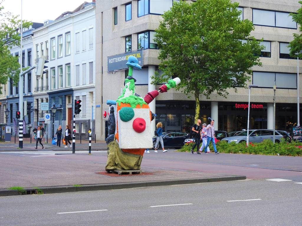anita david bade street art rotterdam