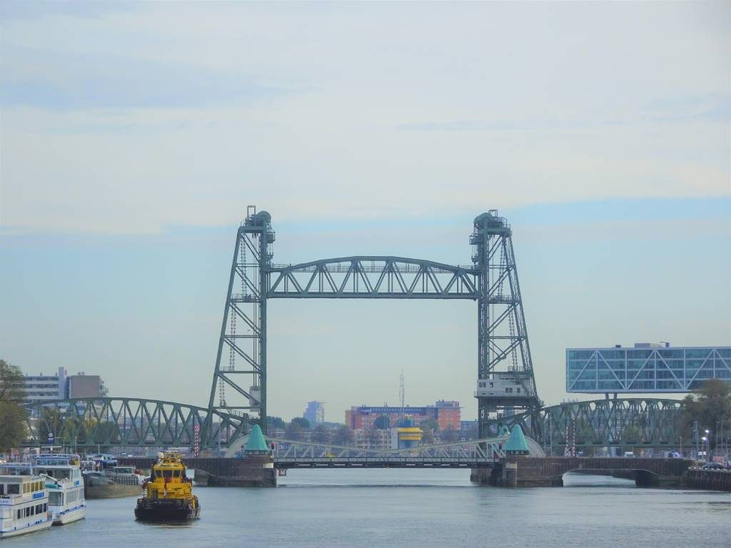 hef bridge brug koningshavenbrug rotterdam architecture