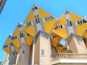 kubushuizen cube houses cubes rotterdam architecture piet blom