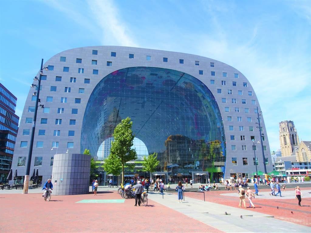 markthal mvrdv rotterdam architecture